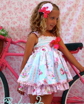 vestido de vuelo para niña