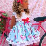 vestido Angela azul Belcoquet