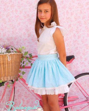 conjunto de falda Belcoquet
