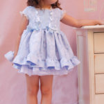 vestido azul verano