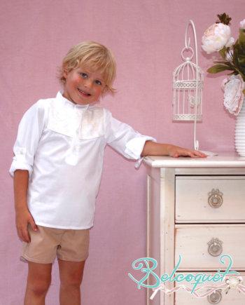 conjunto niño. blusa y pantalón