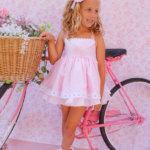 vestido rosa vuelo