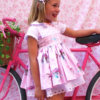 vestido verano rosa