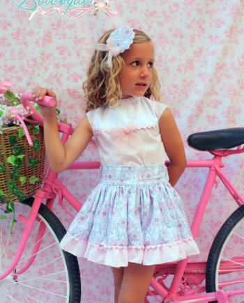 blusa y falda para verano
