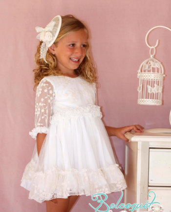 vestido blanco ceremonia