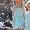 vestido verano azul