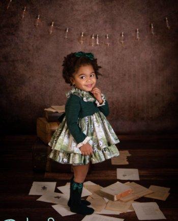 Vestido niña colección invierno