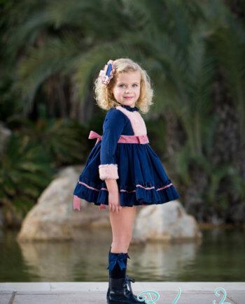 Vestido clásico niña