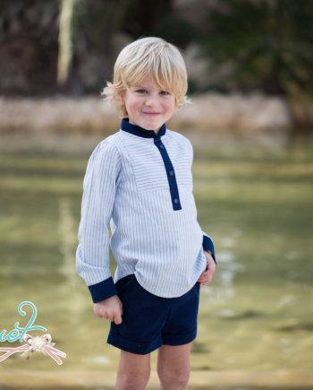 conjunto niño camisa y pantalón