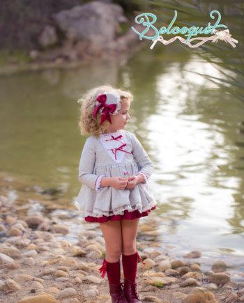Vestido niña vuelo