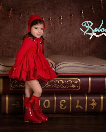 jesusito niña rojo
