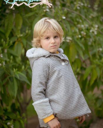 abrigo niño forrado