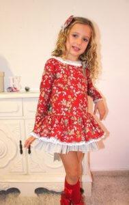 vestido-rojo-nina-invierno