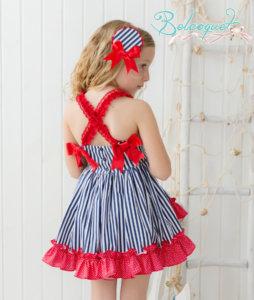 Becoquet Venecia vestido de vuelo niña primavera verano