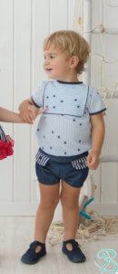 venecia conjunto niño bebé  belcoquet