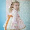 dulce vestido volantes
