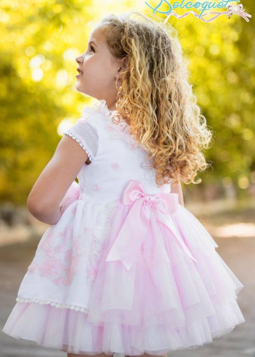 Belcoquet vestido de vuelo Ella rosa