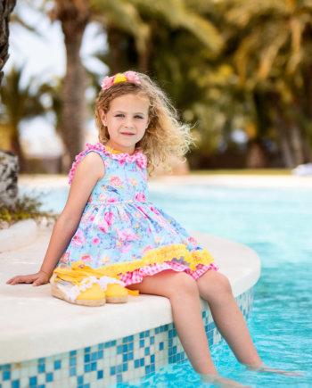Belcoquet Molli vestido de vuelo niña