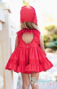 Belcoquet Mia vestido jesusito espalda