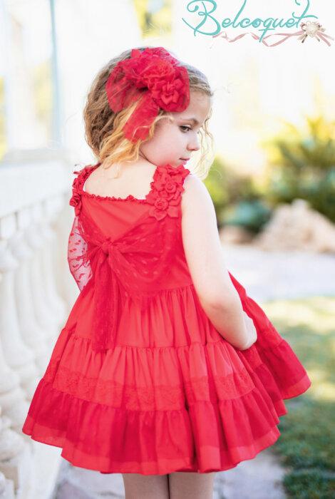 Belcoquet Mia vestido vuelo espalda
