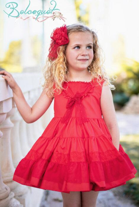 Belcoquet Mia vestido vuelo