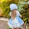 Belcoquet Adele jesusito azul espalda