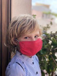 mascarilla reversible algodón infantil niño niña adulto algodón