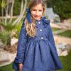 abrigo cheviot marino