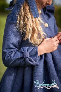abrigo cheviot marino 2