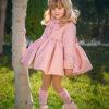 abrigo cheviot rosa