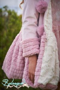 abrigo pompones 6