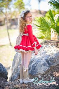 Belcoquet Caperucita Roja vestido vuelo