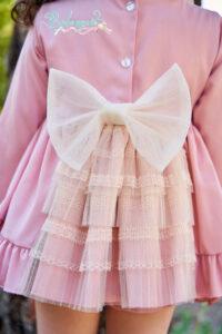 Belcoquet Rapunzel vestido jesusito rosa 02