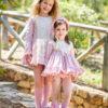 Belcoquet Rapunzel vestido jesusito rosa