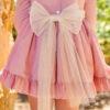 Belcoquet Rapunzel vestido vuelo rosa 02